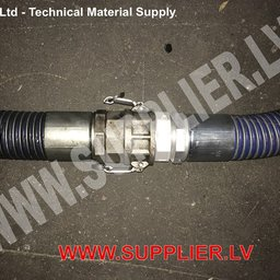 Repair of composite hose from other manufacturers