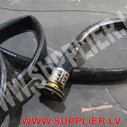 NBR rubber hose with customer flange
